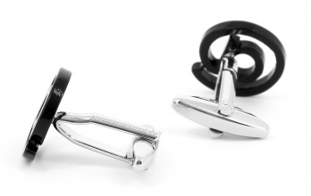 At sign cufflinks - Arobase II
