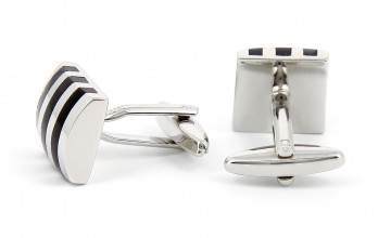 Black cufflinks - Brighton II