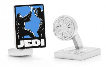 Star Wars cufflinks - Jedi Pop Art Poster