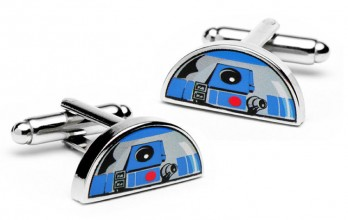Star Wars cufflinks - R2D2 Dome