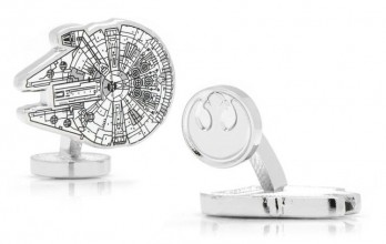Star Wars cufflinks - Millenium Falcon