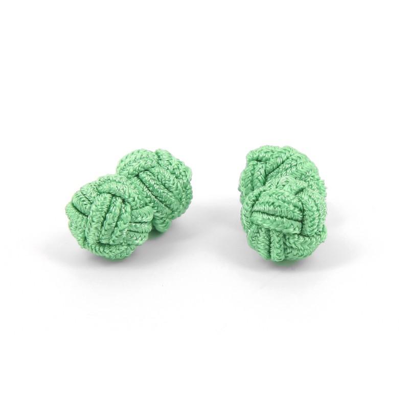Light green silk knots - Bombay