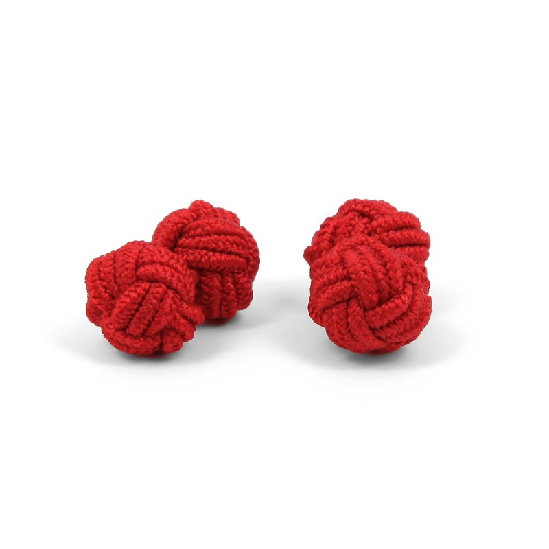 Red silk knots - Bombay