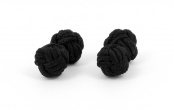 Black silk knots - Bombay
