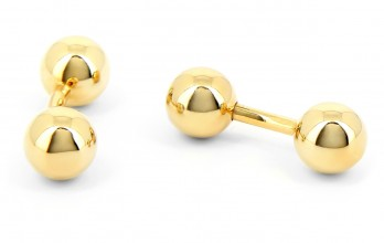 Sphere cufflinks - Mar de Oro