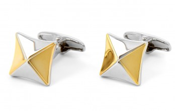 Square cufflinks - Fairbanks