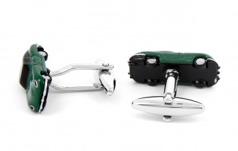 Car cufflinks - Jaguar E-Type