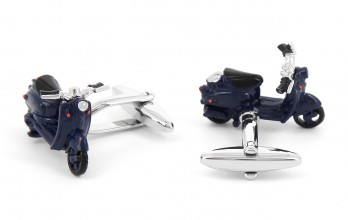 Scooter cufflinks - Amalfi