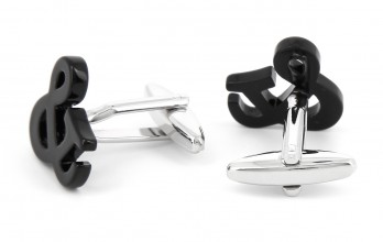Ampersand sign cufflinks - Ampersand