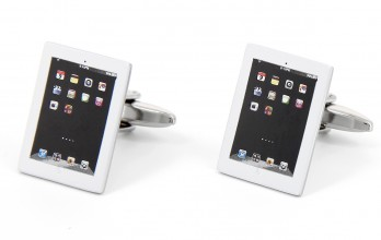 Rectangular cufflinks - iTablet