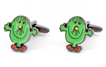 Mr. Clumsy cufflinks - Mr. Clumsy