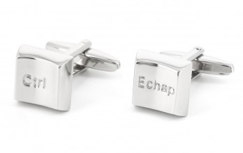 Ctrl/Echap cufflinks - Richmond II