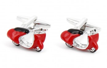 Scooter cufflinks - Roma