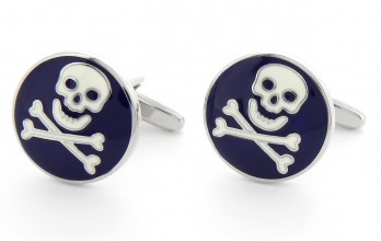 Skull cufflinks - Santo Domingo II