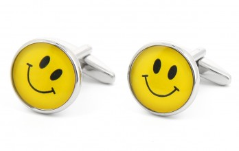 Smiley cufflinks - Smiley City