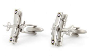 Airplane cufflinks - Sopwith