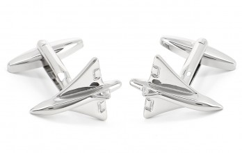 Airplane cufflinks - Toulouse