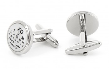 Vision test table cufflinks - XOTVM