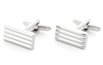 Rectangular cufflinks - Manhattan VII