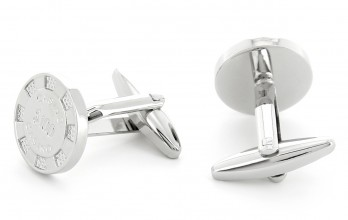 Poker chips cufflinks - Montenegro