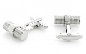 Cylindrical cufflinks - Oslo