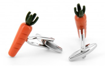 Carrote cufflinks - What's Up, Doc?