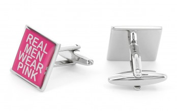 Square cufflinks - Real Men