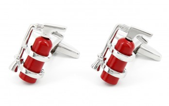 Fire extinguishers cufflinks - Redhill