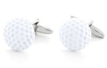 Golf cufflinks - Pebble Beach