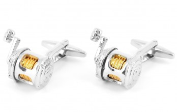Fishing pole cufflinks - Bahamas