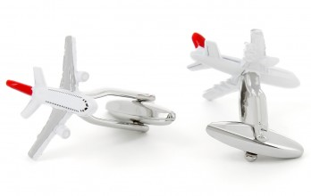 Airplane cufflinks - Orly