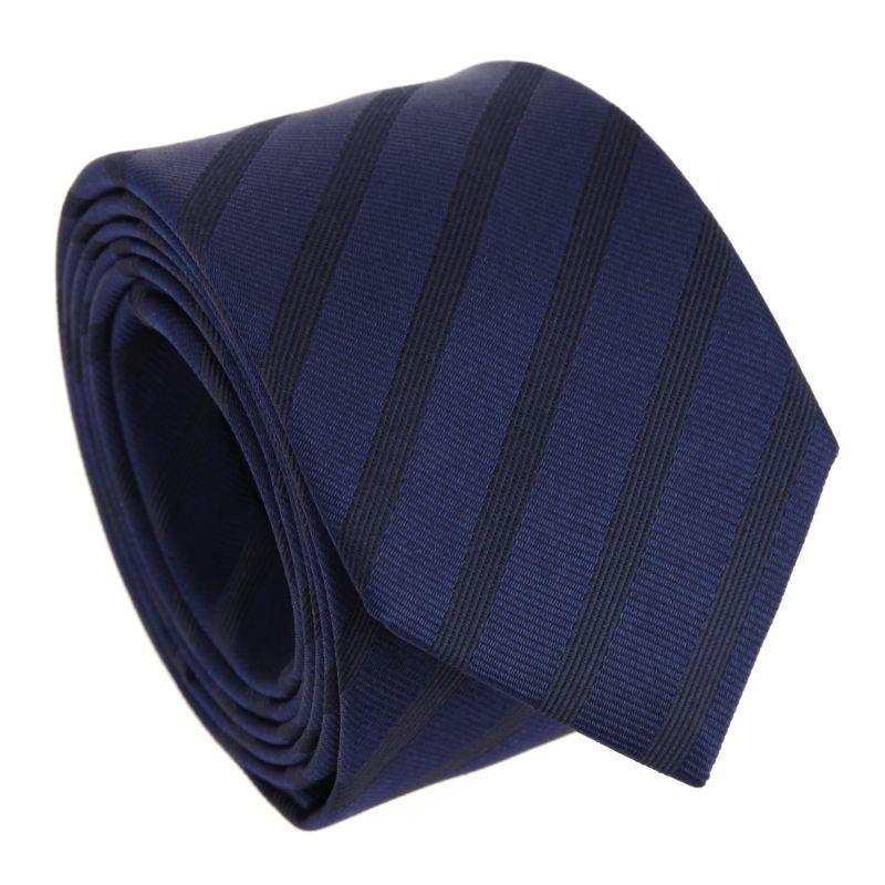 Semi Plain Navy blue The Nines Tie - Birmingham II