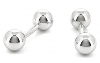 Sphere Sterling Silver cufflinks - Mar del Plata
