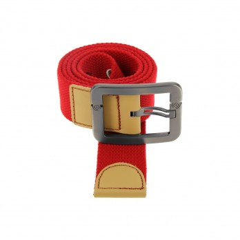 RED HESSIAN BELT