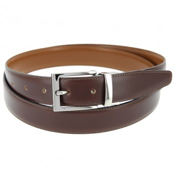Reversible belt in camelbrown - James