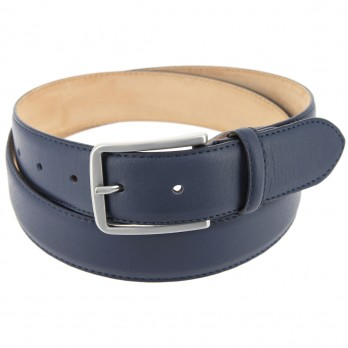 Men's belt in navy blue - Tom
