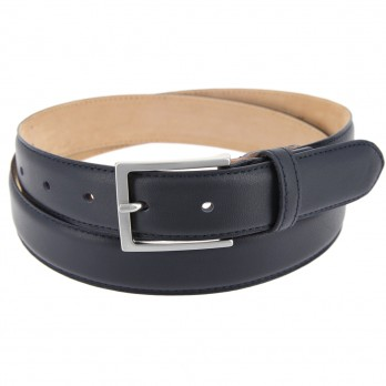 Suit belt in navy blue - Brad