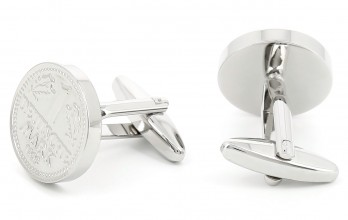 Coin cufflinks - Deutsche Mark