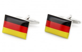 Flag cufflinks - German Flag