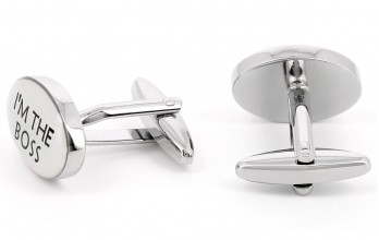 Boss cufflinks - Still Right