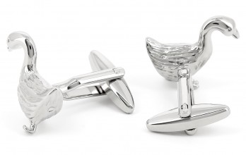 Goose cufflinks - The Famous Goose