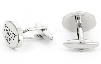 Doctor cufflinks - Trust Me I'm a Doctor