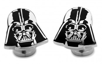 Star Wars cufflinks - Dark Vader head II