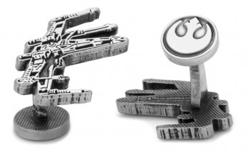 Star Wars cufflinks - X-wing