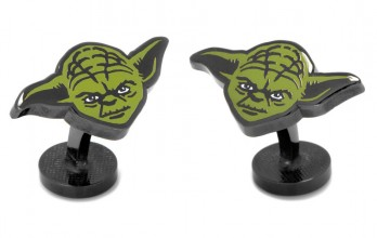 Star Wars cufflinks - Yoda