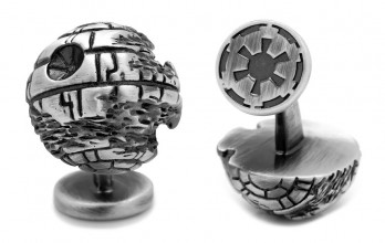 Star Wars cufflinks - 3D Death Star II