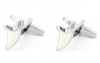 Shark teeth cufflinks - Perth