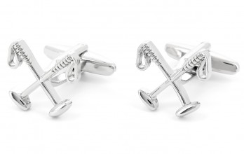 Croquet cufflinks - Chantilly