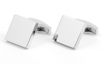 Sterling Silver Square cufflinks - Turku