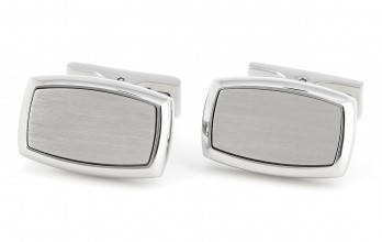 S.T Dupont - Rectangle Brushed cufflinks